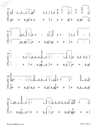 Real Friends-Camila Cabello-Numbered-Musical-Notation-Preview-3