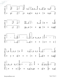 Real Friends-Camila Cabello-Numbered-Musical-Notation-Preview-5