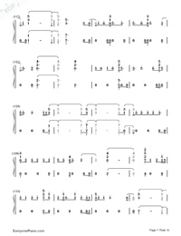 Real Friends-Camila Cabello-Numbered-Musical-Notation-Preview-7