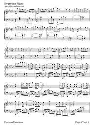打上花火-フルーバージョン五線譜プレビュー4