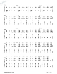 Horizon-Simple Version Numbered Musical Notation Preview 4