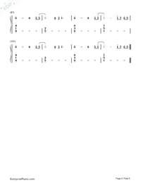 Horizon-Simple Version Numbered Musical Notation Preview 6