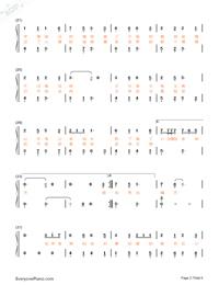 牧馬城市-老男孩片尾曲雙手簡譜預覽2