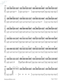 In the Mirror-Yanni Numbered Musical Notation Preview 2