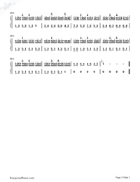 In the Mirror-Yanni Numbered Musical Notation Preview 3