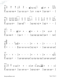 Variations On The Canon-David Lanz-Numbered-Musical-Notation-Preview-2