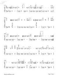 Us and Them-Mayday-Numbered-Musical-Notation-Preview-2