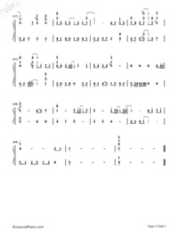 Us and Them-Mayday-Numbered-Musical-Notation-Preview-3