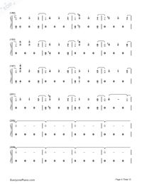 Heaven-Fifty Shades Freed OST-Numbered-Musical-Notation-Preview-9