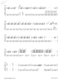 The Wind Rises-Takahashi Yuu-Numbered-Musical-Notation-Preview-2