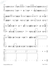 Pray for Me-Black Panther OST-Numbered-Musical-Notation-Preview-5