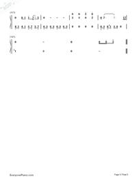 深海少女-完整版雙手簡譜預覽6