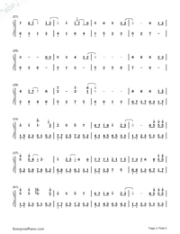 Devil Like an Angel-Hebe Tien-Numbered-Musical-Notation-Preview-2