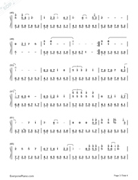 Devil Like an Angel-Hebe Tien-Numbered-Musical-Notation-Preview-3