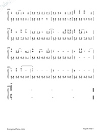 Devil Like an Angel-Hebe Tien-Numbered-Musical-Notation-Preview-4