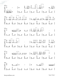 I Can Fly-JJ Lin and Jane Zhang-Numbered-Musical-Notation-Preview-3