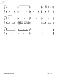 I Can Fly-JJ Lin and Jane Zhang-Numbered-Musical-Notation-Preview-4
