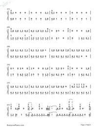 In My Blood-Shawn Mendes-Numbered-Musical-Notation-Preview-2