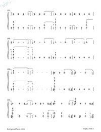 The Champion-Carrie Underwood ft Ludacris Numbered Musical Notation Preview 2