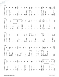 You Are The Reason-Calum Scott-Numbered-Musical-Notation-Preview-2