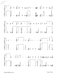 You Are The Reason-Calum Scott-Numbered-Musical-Notation-Preview-3