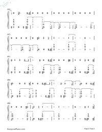 You Are The Reason-Calum Scott-Numbered-Musical-Notation-Preview-4