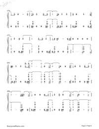 You Are The Reason-Calum Scott-Numbered-Musical-Notation-Preview-5