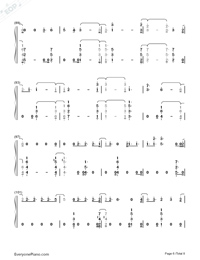 You Are The Reason-Calum Scott-Numbered-Musical-Notation-Preview-6