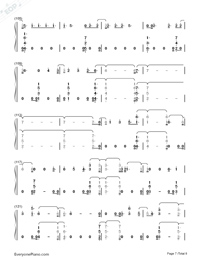 You Are The Reason-Calum Scott-Numbered-Musical-Notation-Preview-7