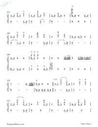 Sora to Kaze to Koi no Waltz-Minami Tsuda-Numbered-Musical-Notation-Preview-2