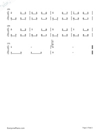 Friends Simple Version-Wakin Chau Numbered Musical Notation Preview 2