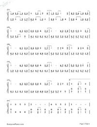 什麽歌-捉妖記2主題曲雙手簡譜預覽2