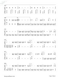 什麽歌-捉妖記2主題曲雙手簡譜預覽3