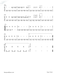 什麽歌-捉妖記2主題曲雙手簡譜預覽4