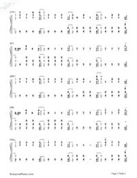 Numb-XXXTentacion Free Piano Sheet Music & Piano Chords