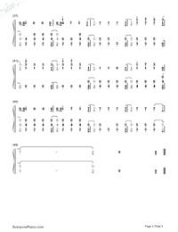 numb piano sheet music pdf