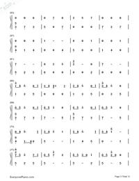 The Good Side-Troye Sivan Numbered Musical Notation Preview 3