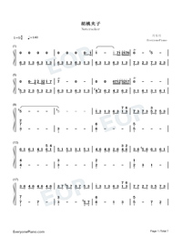 Nutcracker-The Village of No Return OST-Numbered-Musical-Notation-Preview-1