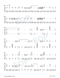 Nutcracker-The Village of No Return OST-Numbered-Musical-Notation-Preview-3
