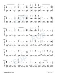 Nutcracker-The Village of No Return OST-Numbered-Musical-Notation-Preview-5