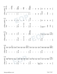 Nutcracker-The Village of No Return OST-Numbered-Musical-Notation-Preview-6