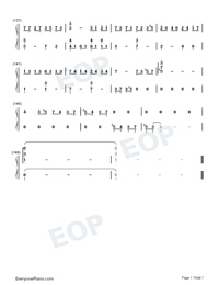 Nutcracker-The Village of No Return OST-Numbered-Musical-Notation-Preview-7