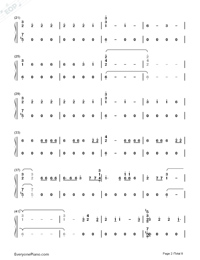 Corazón-Maluma-Numbered-Musical-Notation-Preview-2