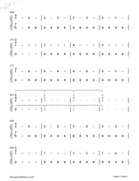 Corazón-Maluma-Numbered-Musical-Notation-Preview-4