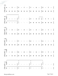 Corazón-Maluma-Numbered-Musical-Notation-Preview-5