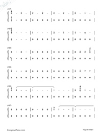 Corazón-Maluma-Numbered-Musical-Notation-Preview-6