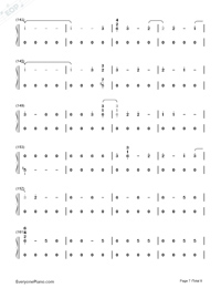 Corazón-Maluma-Numbered-Musical-Notation-Preview-7