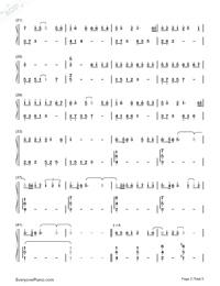 紙短情長-完整版雙手簡譜預覽2