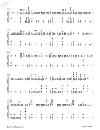 In the Dark-Camila Cabello-Numbered-Musical-Notation-Preview-2