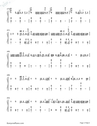 In the Dark-Camila Cabello-Numbered-Musical-Notation-Preview-3